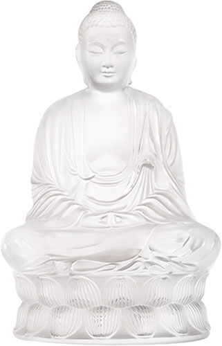 Lalique Crystal - Buddha Small - Style No: 10140200