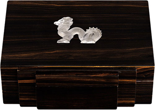 Lalique Crystal - Jewellery Boxes Dragon - Style No: 10192900