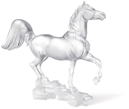 Lalique Crystal - Horse Bucephale - Style No: 10307400