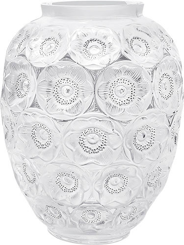 Lalique Crystal - Anemones Grand - Style No: 10518200