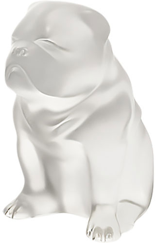 Lalique Crystal - Dogs Bulldog - Style No: 10520200