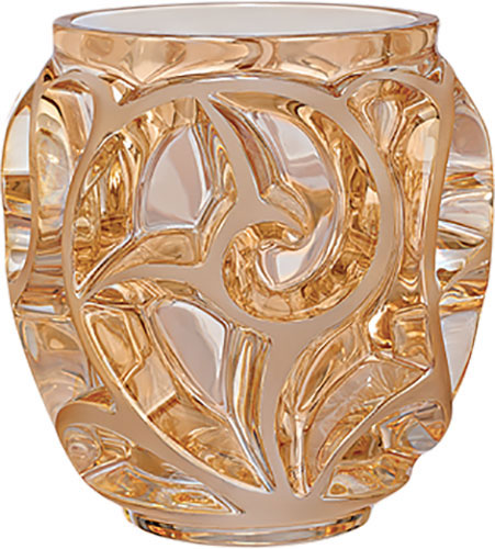 Lalique Vases Tourbillons Crystal From Luxurycrystal