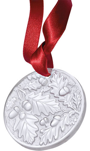 Lalique Crystal - Annual 2016 Chene Oak - Style No: 10549500