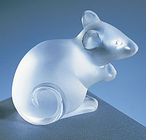 Lalique Crystal - Mouse - Style No: 1068000