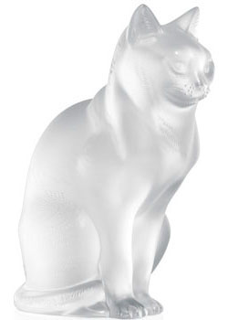 Lalique Crystal - Cat - Style No: 1160300