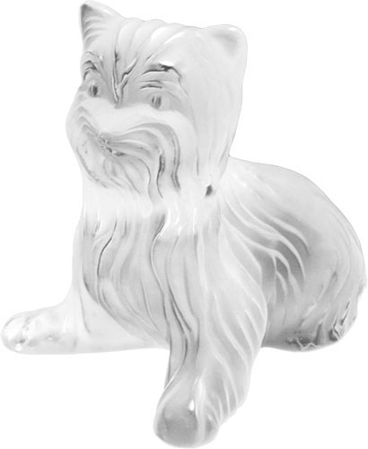 Lalique Crystal - Dogs Yorkshire Terrier Super Boy - Style No: 1174500