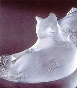 Lalique Crystal - Cat - Style No: 1179500