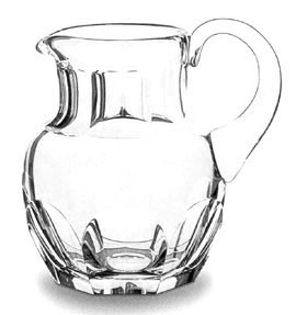 Baccarat Crystal - Harcourt Pitchers - Style No: 1201302