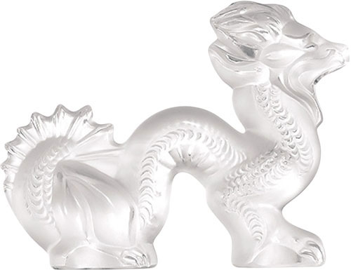 Lalique Crystal - Dragon Small - Style No: 1213200