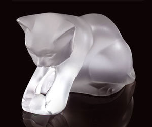 Lalique Crystal - Kitten - Style No: 1217200