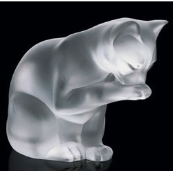 Lalique Crystal - Cat - Style No: 1218700