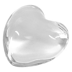 Baccarat Crystal - Heart Puffed - Style No: 1761531