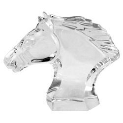 Baccarat Crystal - Horses Head - Style No: 1762673