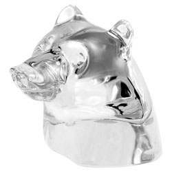 Baccarat Crystal - Bears Head - Style No: 1762710