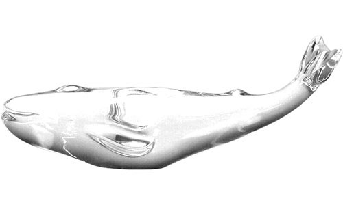Baccarat Crystal - Whales Pacific - Style No: 1764564