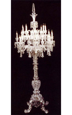 Baccarat Crystal - Candelabras Tsarine - Style No: 1922426