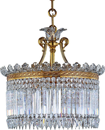 Baccarat Crystal Crinoline 13 Light Oval Chandelier 1931306