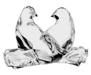 Baccarat Crystal - Birds Doves - Style No: 2100916