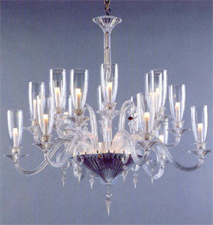 Baccarat 2609538 Lighting Chandeliers (Mille Nuits ...icane Shades)