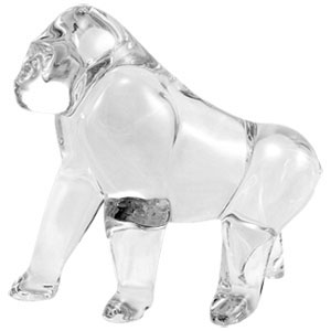 Baccarat Crystal - Gorilla - Style No: 2102735