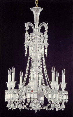 Baccarat Crystal - Chandeliers Zenith - Long - Style No: 2606552