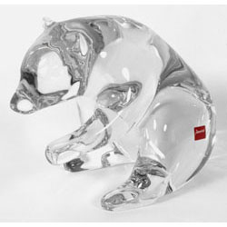 Baccarat Crystal - Bears Yellowstone - Style No: 2103743