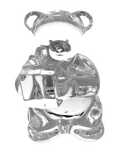 Baccarat Crystal - Bears Teddy Bear - Style No: 2105451
