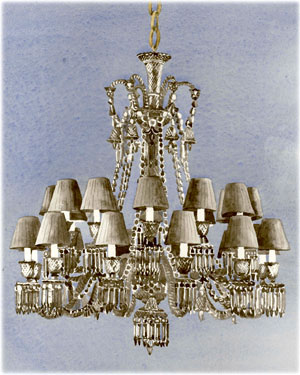 Baccarat Crystal - Chandeliers Zenith - Onyx - Style No: 2606899