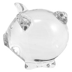 Baccarat Crystal - Pigs Minimals Rosy - Style No: 2106353
