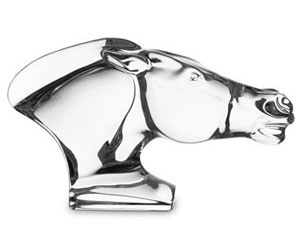 Baccarat Crystal - Horses Head - Style No: 2600796