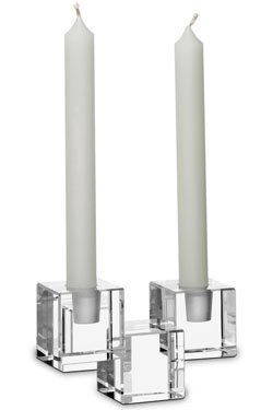 Baccarat Crystal - Candlesticks Cube - Style No: 2602187