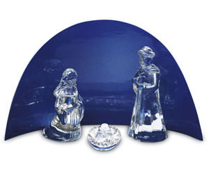 Baccarat Crystal - Nativity Figurines - Style No: 2602238