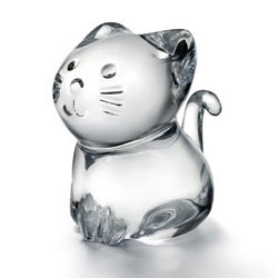 Baccarat Crystal - Cats Minimals Kitty - Style No: 2610097