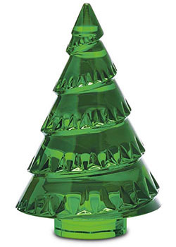 baccarat crystal christmas trees chamonix fir style no 2611654 - Crystal Christmas Tree