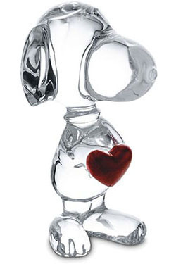 Baccarat Crystal - Snoopy - Style No: 2613001