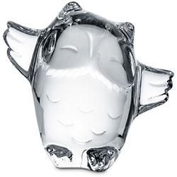 Baccarat Crystal - Birds Minimals Owl - Style No: 2802207