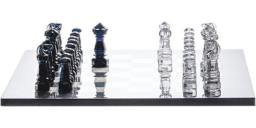 Baccarat Crystal - Chess Set - Style No: 2805279