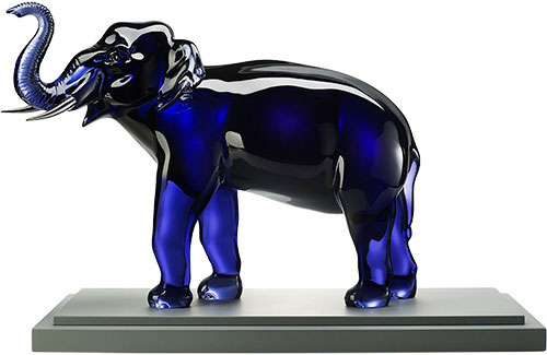 Baccarat Crystal - Elephants Midnight Limited Edition - Style No: 2805800