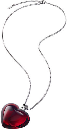 Baccarat Crystal - Heart Romance Necklace - Style No: 2807159
