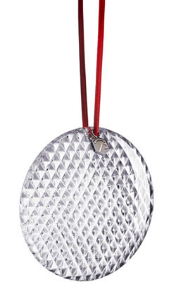 Baccarat Crystal - Christmas Ornaments Diamant - Style No: 2807394