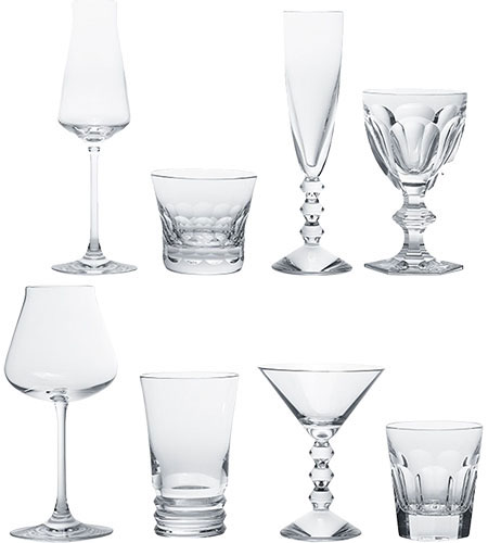Baccarat Crystal - Mixed Boxed Sets Cocktail Party In A Box - Style No: 2809852