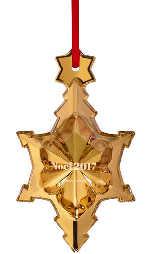 baccarat crystal christmas ornaments annual style no 2811538