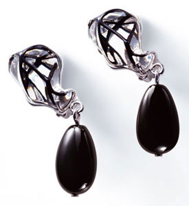 Lalique Crystal - Tourbillons Earings - Style No: 7740700