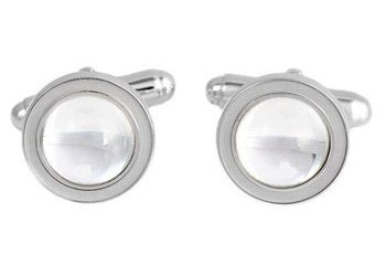 Lalique Crystal - Cufflinks - Style No: 6367200