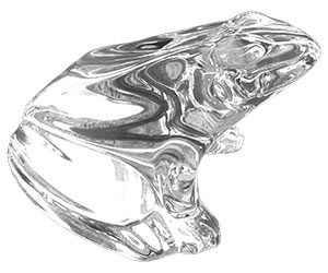Baccarat Crystal - Frog - Style No: baccarat-frog